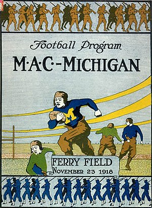 1918 Big Ten Conference football season - 1918 M.A.C. program