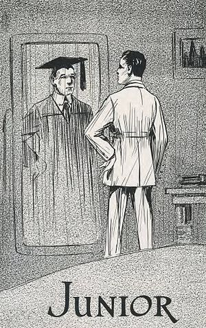 Junior (education) - Junior class artwork, from East Texas State Normal College's 1920 Locust yearbook
