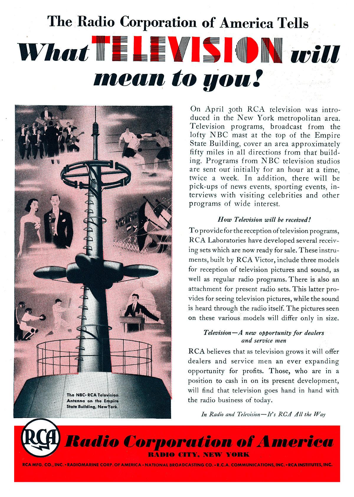Radio Corporation Of America Wikip 233 Dia