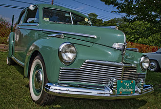 Studebaker Champion - 1942 4-door sedan