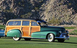 Oldsmobile Series 60 - 1948 Oldsmobile Series 66 Station Wagon