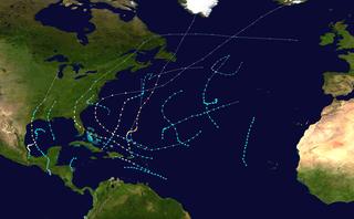 1949 Atlantic hurricane season hurricane season in the Atlantic Ocean