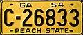 1954 Georgia license plate.jpg