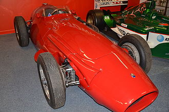 1956 Australian Grand Prix - A Maserati 250F similar to that in which Stirling Moss won the 1956 Australian Grand Prix