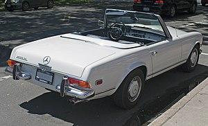 Mercedes-Benz W113 - 1967 Mercedes-Benz 250 SL, late US model