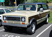 A 1976 1980 Scout II Traveller
