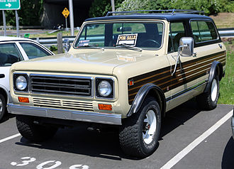 International Harvester Scout - A 1976–1980 Scout II Traveller
