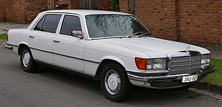 Mercedes-Benz W116 Motor vehicle