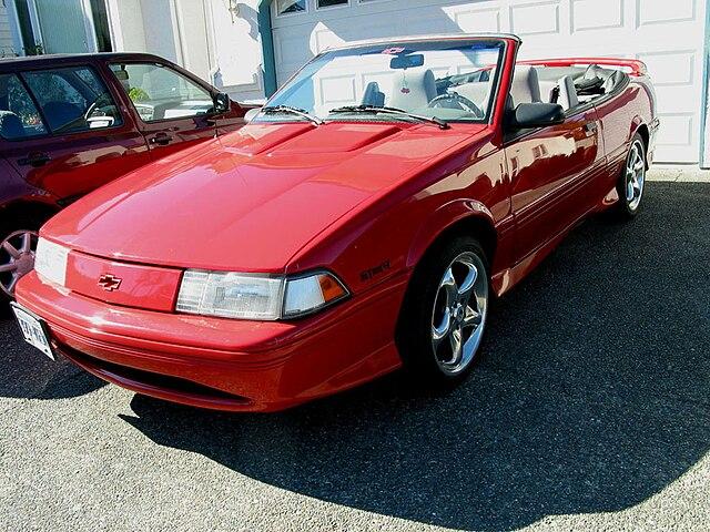 File1993 Chevrolet Cavalier Z24 In Redg Wikimedia Commons