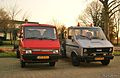 1993 Nissan Trade & 1983 Iveco Daily (12778769413).jpg