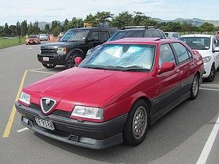 Alfa Romeo 164 car model