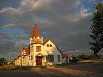 Roy, New Mexico - Image: 1st Baptist Roy