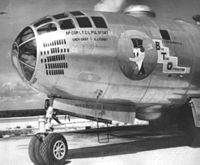 1st Bombardment Squadron Boeing B-29-50-BW Superfortress 42-24791 Big Time Operator.jpg