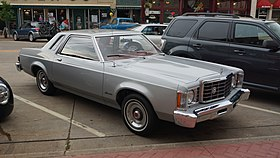 1st generation Ford Granada coupe (US) in Hastings, Minnesota.jpg
