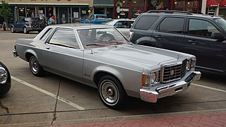Ford Granada (North America) Motor vehicle