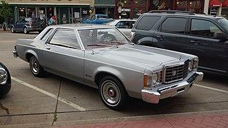 Ford Granada (North America) - Ford Granada coupe (first generation)