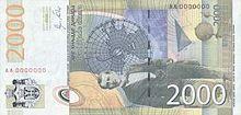 2000 dinaroj inversigas