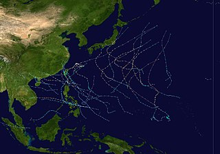 2001 Pacific typhoon season typhoon season in the Pacific Ocean
