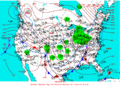 2003-02-24 Surface Weather Map NOAA.png
