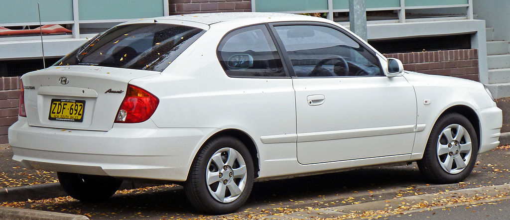 2010 Hyundai Accent 3 Door. 2003–2006 Hyundai Accent (LC