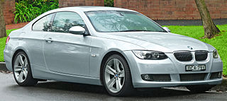 Compact executive car manufactured by BMW