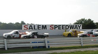 Salem Speedway - ARCA Lincoln Welders Truck Series Trucks at Salem, September 16, 2006