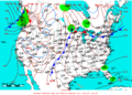 2007-10-07 Surface Weather Map NOAA.png