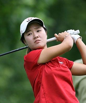 Min Na-on - Min at the 2007 LPGA Championship