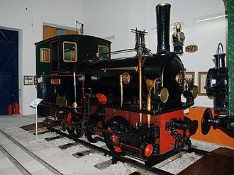 Piraeus, Athens and Peloponnese Railways - Image: 20090701 Athens Rail Museum Krauss A4