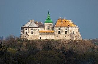 Poles in Ukraine - Olesko Castle is the birthplace of Polish King John III Sobieski