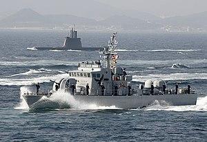 2010. 7. 동해 한미연합 훈련 Rep. of Korea Navy korea us combine training (7554655104).jpg