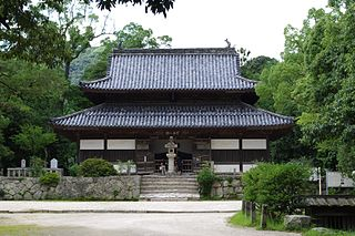 Kanzeon-ji Buddhist temple in Fukuoka Prefecture, Japan