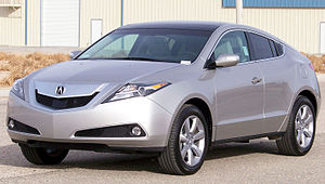 Acura ZDX - 2010 Acura ZDX with Advance Package