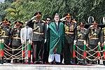 Hámid Karzai afgán elnök a függetlenség napján