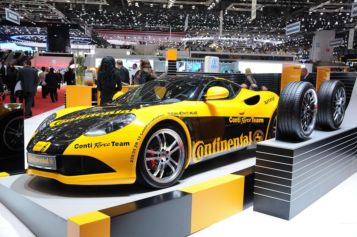 Geneva Motor Show >> Continental AG — Вікіпедія
