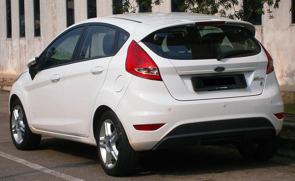 2012 Ford Fiesta 1.6L Sport in Cyberjaya, Malaysia (02)