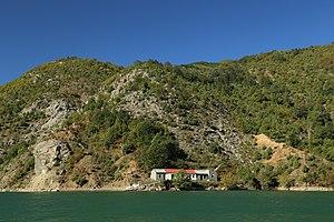 Lake Koman Ferry - Image: 2013 10 04 Lake Koman, Albania 1114
