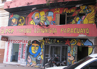 Paraguayan Communist Party - Office of the PCP, Asunción, 2013.