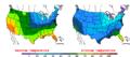2014-03-17 Color Max-min Temperature Map NOAA.png