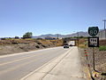 2014-06-12 10 10 48 First reassurance signs along eastbound Nevada State Route 794 (East Winnemucca Boulevard) in Winnemucca, Nevada.JPG