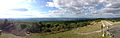 2014-08-28 16 34 27 Panorama from the north corner of the base of High Point Monument in High Point State Park, New Jersey.JPG
