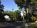 2014-08-30 08 24 07 Utility poles along Central Avenue in Ewing, New Jersey.JPG