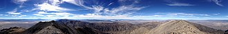 Bunker Hill (Nevada) - Image: 2014 10 13 12 41 17 Full 360 degree panorama from the summit of Bunker Hill, Nevada