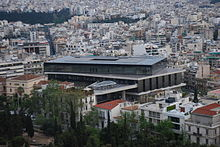 Location of Acropolis Museum in Athens