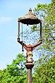 2015-05-10 Upnor Castle — Gas lamp.jpg