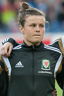 Hayley Ladd Welsh footballer
