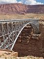 2015 Arizona Marble Canyon old Navajo Bridge.jpg