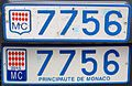 2015 Monaco front and rear plate.JPG