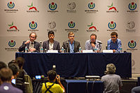 2015 Wikimania press conference-8.jpg