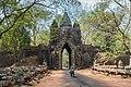 2016 Angkor, Angkor Thom, Brama północna (02).jpg